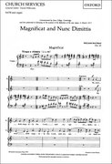Cover for Magnificat and Nunc Dimittis (Op. 53)