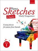 Cover for Piano Sketches Duets Book 1