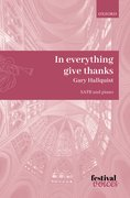 Cover for In everything give thanks