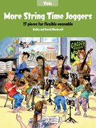 Cover for More String Time Joggers Viola book