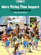 Cover for More String Time Joggers Cello book