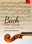 Cover for Bach for Violin