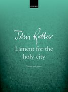 Cover for Lament for the holy city