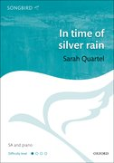 Cover for In time of silver rain
