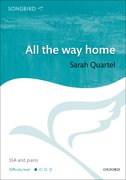Cover for All the way home