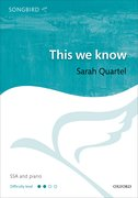 Cover for This we know