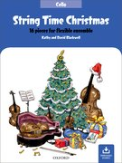 Cover for String Time Christmas