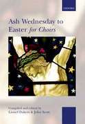 Cover for Ash Wednesday to Easter for Choirs