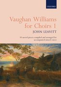 Cover for Vaughan Williams for Choirs 1