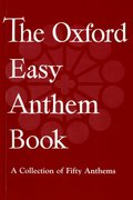 Cover for The Oxford Easy Anthem Book