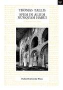 Cover for Spem in Alium