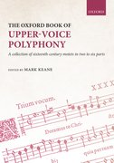 Cover for The Oxford Book of Upper-Voice Polyphony - 9780193534858