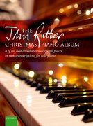 Cover for The John Rutter Christmas Piano Album