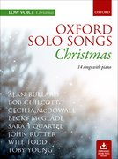 Cover for Oxford Solo Songs: Christmas