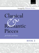 Cover for Classical and Romantic Pieces for Violin Book 2