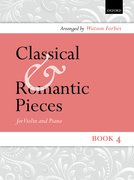 Cover for Classical and Romantic Pieces for Violin Book 4