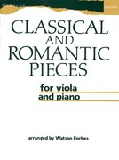 Cover for Classical and Romantic Pieces for Viola