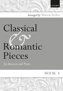 Cover for Classical and Romantic Pieces for Bassoon Book 1