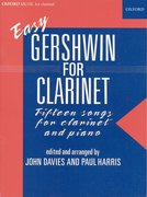 Cover for Easy Gershwin for clarinet
