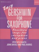 Cover for Easy Gershwin for Saxophone