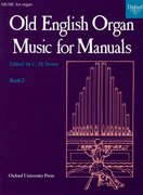 Cover for Old English Organ Music for Manuals Book 2