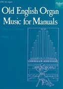 Cover for Old English Organ Music for Manuals Book 6