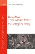Cover for If ye would hear the angels sing
