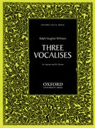 Cover for Three Vocalises