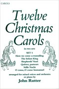 Cover for Twelve Christmas Carols Set 1