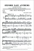 Cover for Cry out with joy