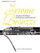 Cover for Sonata in B flat major
