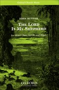 Cover for The Lord is my shepherd