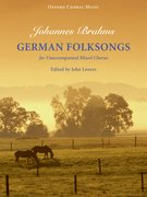 Cover for German Folksongs