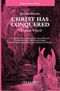 Cover for Christ has conquered (Christus Vincit)