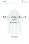 Cover for Entrance into Jerusalem and Hymn