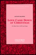 Cover for Love came down at Christmas