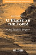 Cover for O Praise Ye the Lord!