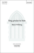 Cover for Sing praise to him