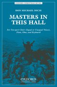 Cover for Masters in this hall