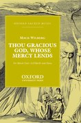 Cover for Thou gracious God, whose mercy lends