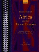 Cover for Piano Music of Africa and the African Diaspora Volume 1