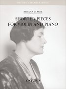 Cover for Shorter Pieces for Violin and Piano
