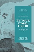 Cover for By your word, O God