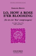 Cover for Lo, how a Rose e