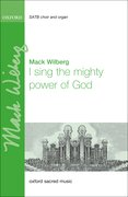 Cover for I sing the mighty power of God