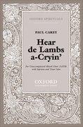 Cover for Hear de Lambs a-Cryin
