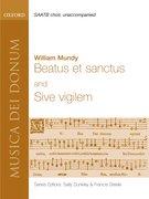 Cover for Beatus et Sanctus and Sive vigilem