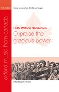 Cover for O praise the gracious power