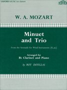 Cover for Minuet and Trio