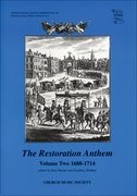 Cover for The Restoration Anthem Volume 2 1688-1714